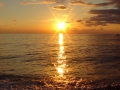 Закат над Чёрным морем