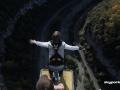 Прыжок: вид со спины