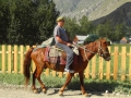 Анатолий на лошади