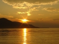 Закат над Баргузинским заливом