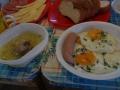 Завтрак перед восхождением