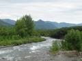 Река по дороге