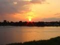 Закат над рекой Выг