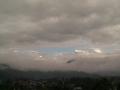 Вид на горы с крыши отеля