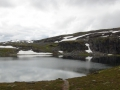 Озеро и водопад