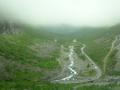 Вид с дороги на долину