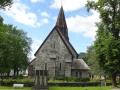 Каменная церковь в Воссе