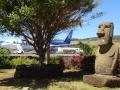 Моаи у аэропорта