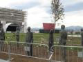 Скульптурная композиция в память о пожаре