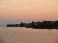 Рассвет над Женевским озером