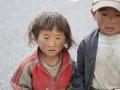 Бедные тибетские дети